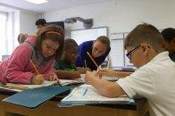 w klasie