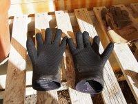 Czarne rękawice
